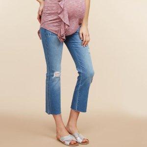低至$19.97Motherhood 孕妈妈牛仔裤促销 孕期、哺乳期都能穿