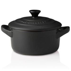 Le Creuset小号煮锅 磨砂黑