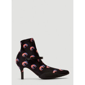 Marine Serre月亮袜子鞋