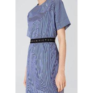 Victoria BeckhamLogo Belt Dress