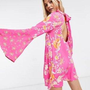 低至3折+额外8.5折 £60收封面连衣裙Free People 百变女神美衣热卖 收仙女裙、开衫等