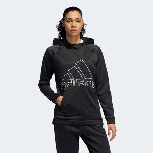 Adidas黑色运动卫衣