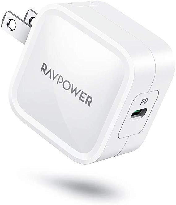 30W PD3.0 GaN USB C 充电头 白