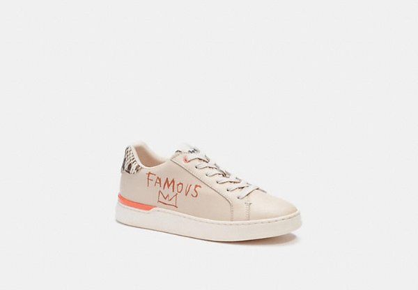 Coach X Jean Michel Basquiat 联名运动鞋