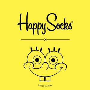 Starting at $8Happy Socks X SpongeBob New Collection