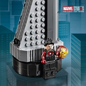 Free Avengers Towerwith Marvel Purchase over $75+ @ LEGO Brand Retail