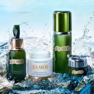 满额送眼部精华+2件小样La Mer 深海能量护肤品牌 入精粹系列、神奇面霜