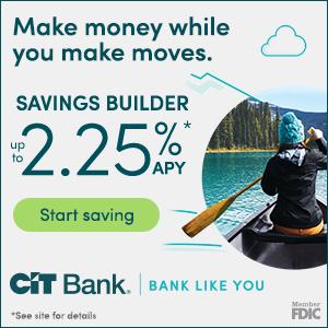 Get a 2.25% APYCIT Bank Money Market Account