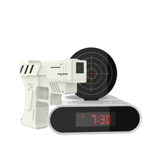 $17.65Hey! Play! Toy Gun Alarm Clock Game-Infrared Laser Activated Snooze Target