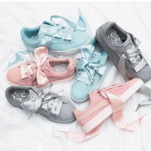 下单立享6折+ 包税免邮中国史低价:PUMA 女鞋精选 经典蝴蝶结板鞋¥200起 码全 低至1.3折