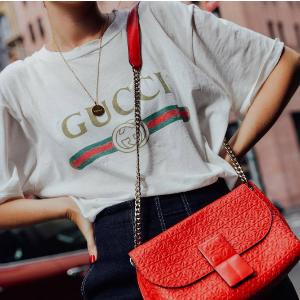 变相8.5折 $625收封面同款定价优势:Gucci 爆款T恤专场 $800+收唐老鸭T恤