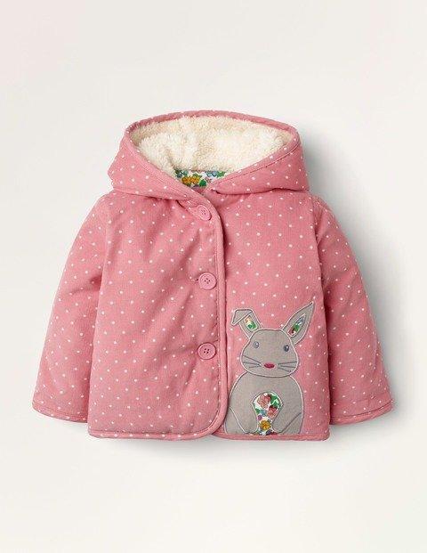 婴幼儿小兔灯芯绒保暖外套