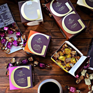 Up  to 20% offSelected chocolate on sales @ GODIVA