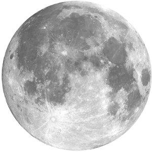 $5.39 收封面月球款 包邮HaloVa 星球鼠标垫 全场9折, 22cm直径大尺寸+带防滑设计