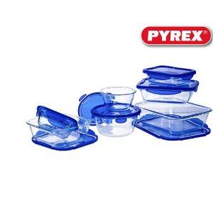 现价€39.95(原价€75.95)Pyrex 保鲜盒 饭盒 7件套 特价