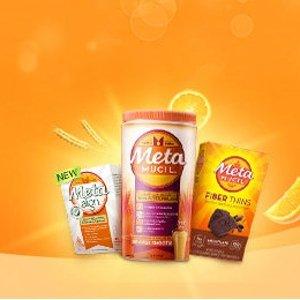 7折起 网红橘子味仅$9近期好价:Metamucil 火遍全网的纤维粉 明星网红都在吃