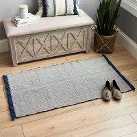 海军条纹地毯