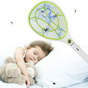 折后€16.99 原价€19.99Night Cat 充电电蚊拍 安全高效 室内室外都能用 解决烦人蚊虫