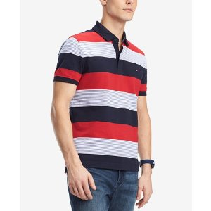 b65a67ec Tommy HilfigerMen's Lewis Custom-Fit Striped Polo, Created for Macy's.  $29.19 $69.50. Tommy Hilfiger Men's ...