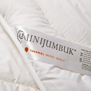 低至6折MiniJumbuk 超保暖羊毛被,5层设计冬季必备
