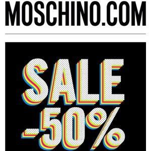 50% OffMoschino Women & Men's Clothing Sale