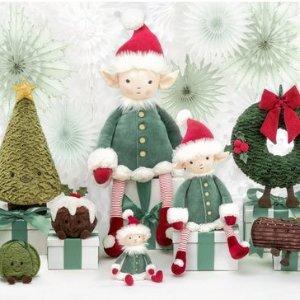€11收圣诞老人Jellycat 新款重磅来袭 圣诞老人、圣诞树、小雪人都来啦