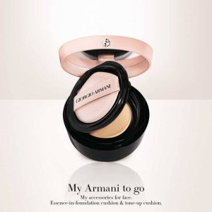 Giorgio Armani送替换芯樱花粉气垫