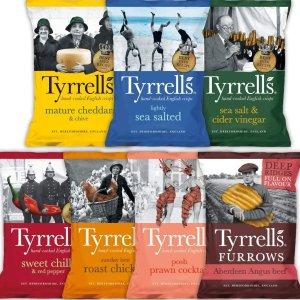 每种口味都不踩雷 低至€1Tyrrells 号称法国最好吃的高颜值薯片 究竟是个什么味儿