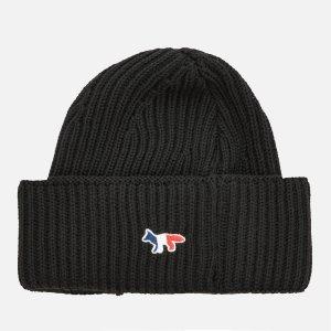 Maison Kitsune满€234减€58.5logo毛线帽