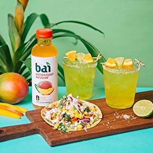 $10.12 Bai Flavored Water, Malawi Mango, Antioxidant Infused Drinks, 18 Fluid Ounce Bottles, 6 count