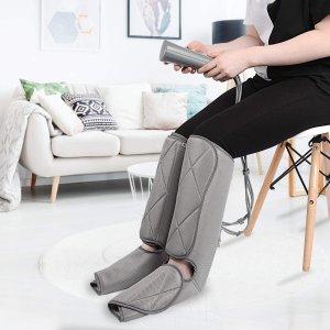 $124.99包邮(原价$139.99)RENPHO 腿部按摩器 增加血液循环 减少腿部肿胀疼痛