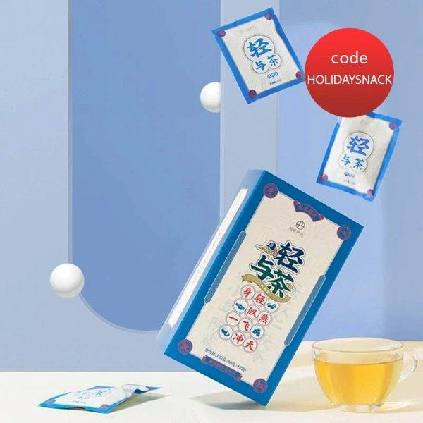 【中国直邮】轻与茶 10克*12袋