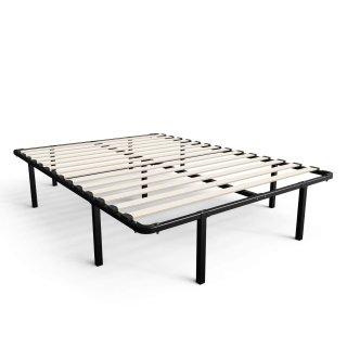 $50.57(原价$72.99)Zinus Full尺寸钢木结构床架