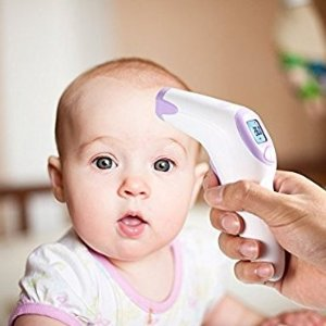 $13.99 (原价$29.99)Dr.Meter FT376 婴儿非接触式前额温度计 体温枪
