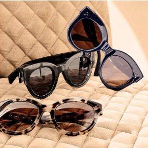 $69.99起 收爆款猫眼墨镜Rue La La 精选 菲拉格慕、Fendi、MiuMiu 等大牌墨镜热卖