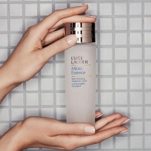 Today Only: Dealmoon Exclusive!25% Off Micro Essence Skin Activating Treatment Lotion @ Estee Lauder