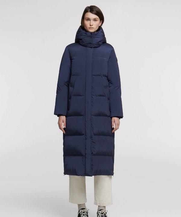 长款羽绒大衣
