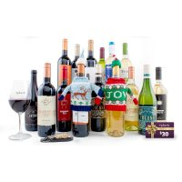 Splash Wines 红白葡萄酒15瓶+2瓶圣诞特别版+价值$30代金券