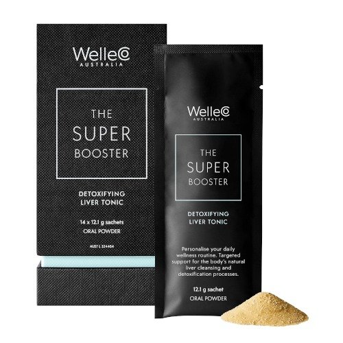 WelleCo Super Booster 排毒粉 14 day pack 14 x 12.1g