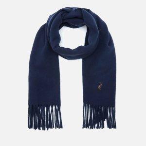 Polo Ralph Lauren羊毛围巾-海军蓝