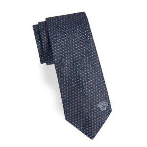 Versace男士领带