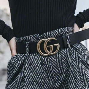 定价优势+退税Gucci 时尚专场,双G腰带补货$315,平底鞋$394码全