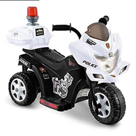 Kid Motorz Lil Patrol in Black and White