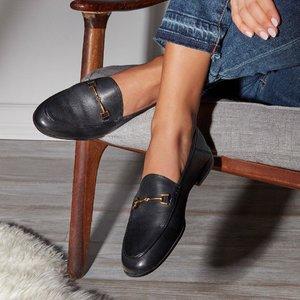 满额享7.5折 一鞋两穿Sam Edelman 超火明星款乐福鞋热卖 凑单必备