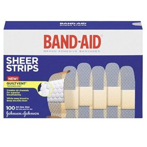 $5.09Band-Aid Sheer Strips Bandages 100 Count