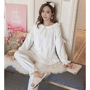 M-XLCrescentt 舒适睡衣套装