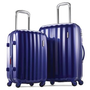 $183.89(原价$435.89)Samsonite 新秀丽硬壳万向轮行李箱两件套,20寸+24寸