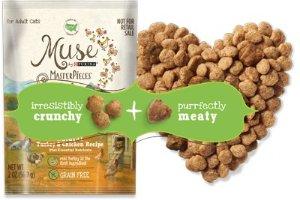 免费领取Purina Muse 2oz 纯天然猫粮样品