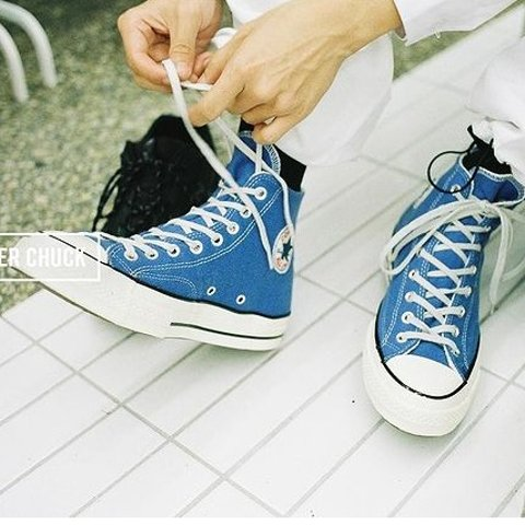 折扣区3.3折起Converse 蓝色系专场 海军蓝、牛仔色系帆布鞋 经典永流传