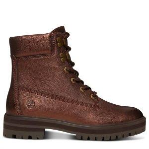 Timberland金属铜靴子